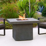 Faux-Concrete Fire Pit - available exclusively at Patioworld