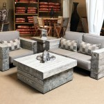 Exclusive Faux-Wood Deep Seating Collection - available at Patioworld