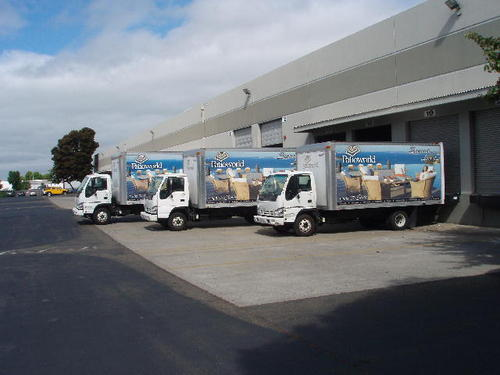 Patioworld Delivery Vans