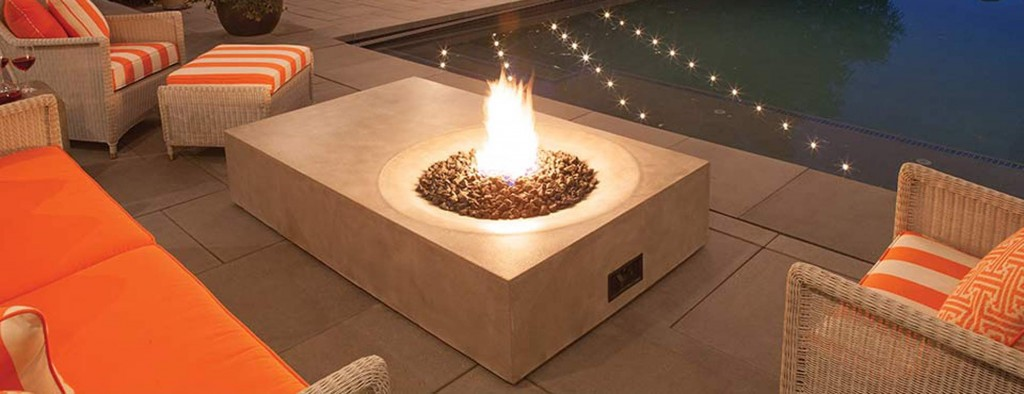 Equinox Fire Pit by Brown Jordan - Available at Patioworld
