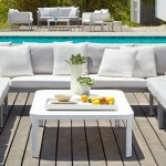 Connexion Deep Seating Sectional by Gloster - Available at Patioworld
