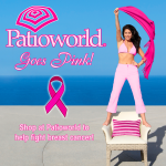 Patioworld Goes Pink for Breast Cancer Awareness Month!